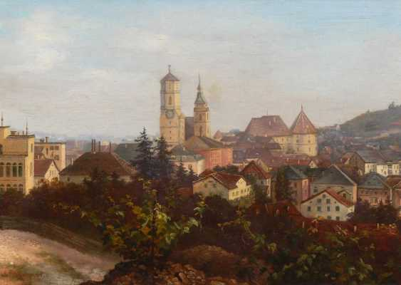 Wangner, C.: view of Stuttgart. - photo 1