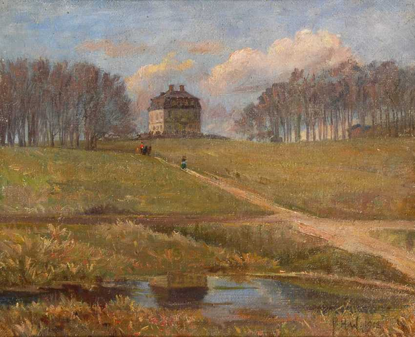 "Wilhardt, Peter Hans: ""Hermitage"". - photo 1"