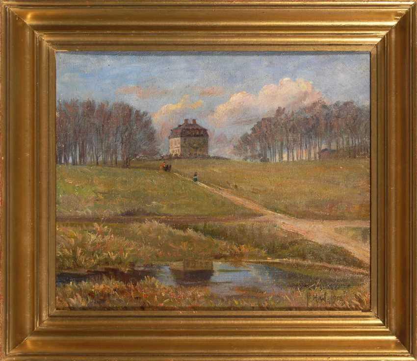 "Wilhardt, Peter Hans: ""Hermitage"". - photo 2"