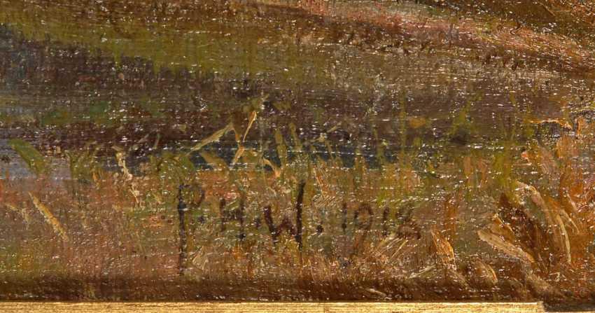 "Wilhardt, Peter Hans: ""Hermitage"". - photo 3"