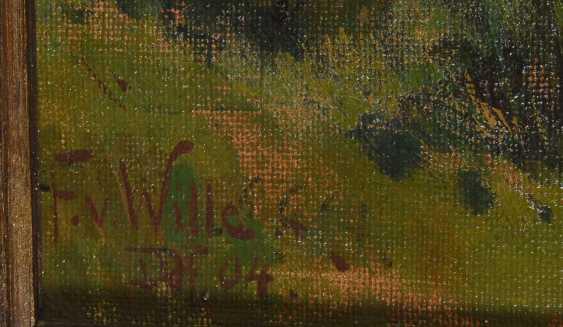 """Wille, Fritz von: """"gorse flowering in the - photo 4"""