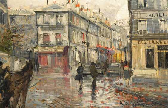 Zampogna, Dino: Paris street, view on - photo 1