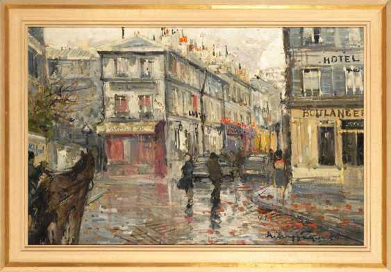 Zampogna, Dino: Paris street, view on - photo 2