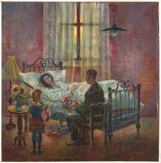 Zeller, Magnus: On The Hospital Bed. - photo 1