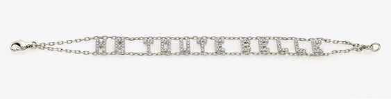 "Link bracelet ""MA TOUTE BELLE"" embellished with diamonds . France, Paris, REPOSSI - photo 1"