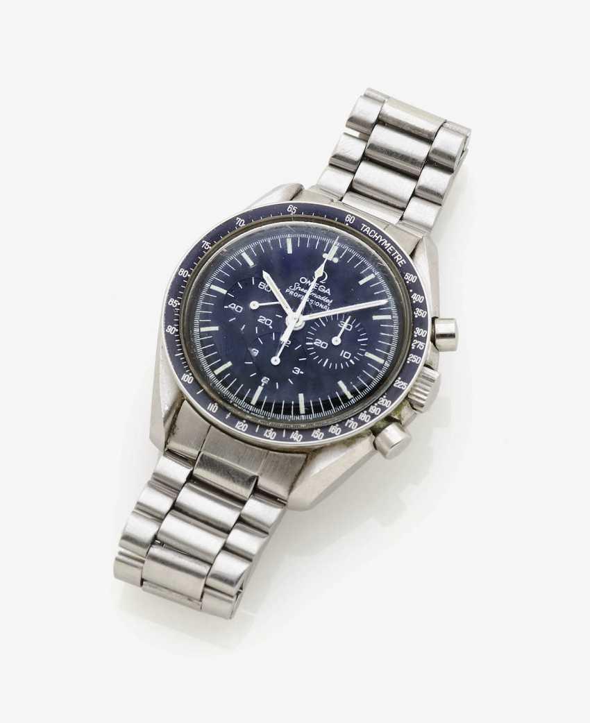 Men's wristwatch . Switzerland, in 1984, OMEGA SPEEDMASTER - photo 1