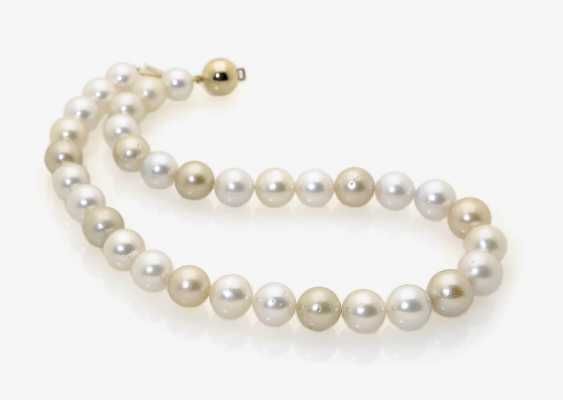 SOUTH SEA CULTURED PEARL NECKLACE. - photo 1