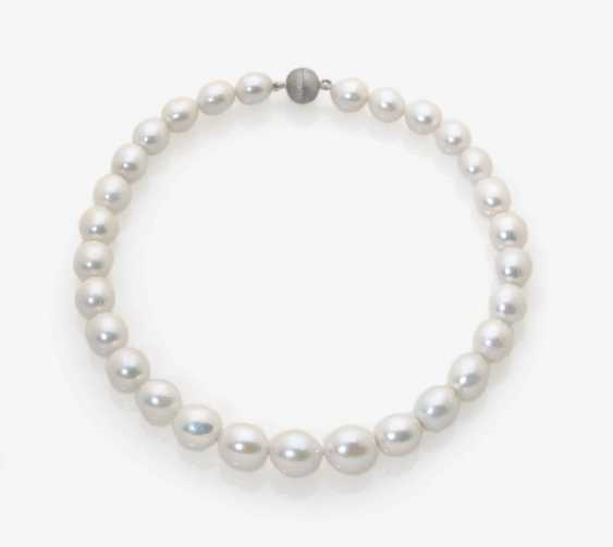 Freshwater Cultured Pearl Necklace. - photo 1