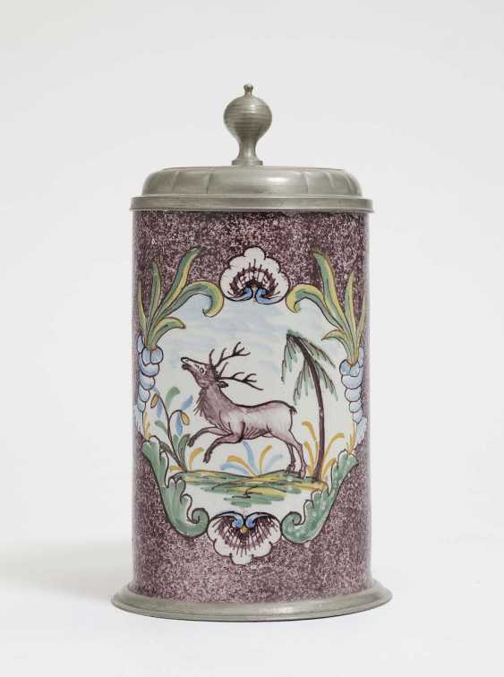 Ansbach, At The End Of 18. Century . Roll jug - photo 1