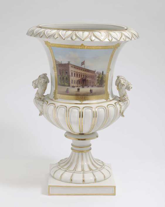 KPM Berlin, 1849 - 1870 . KRATERVASE - photo 1
