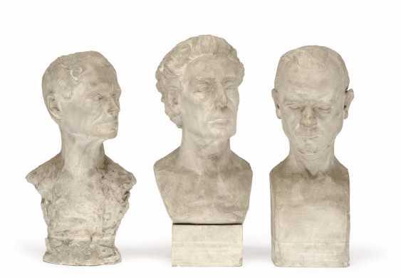 1930. Three Busts - photo 1