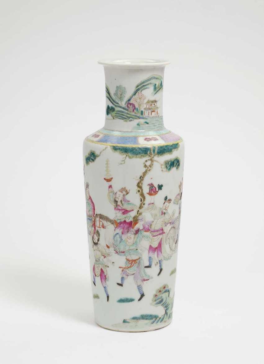 China . ROULEAU-VASE - photo 1