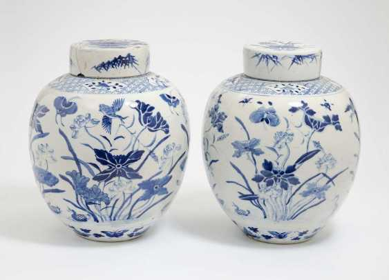 China . TWO GINGER POTS - photo 1
