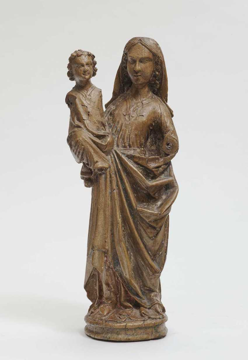 The Rhineland And The Beginning Of 15. Century . MARIA WITH A CHILD - photo 1