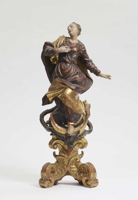 South German, Mid-18th. Century . IMMACULATA - photo 1