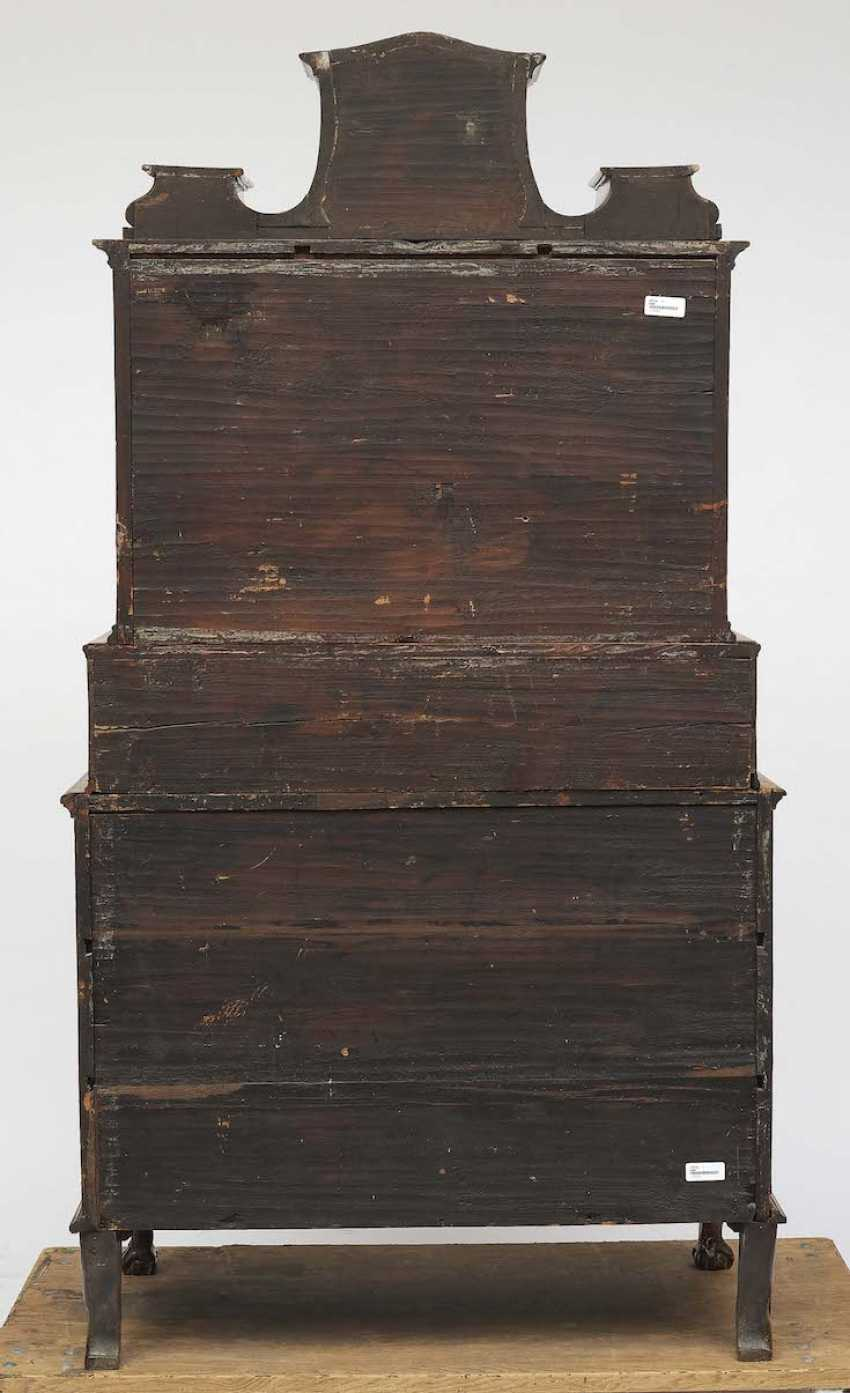 Main-Franconia, around 1740 . Tabernacle top chest of drawers - photo 2