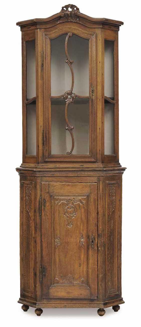 Aachen/Liege, 18. Century . Corner display case - photo 1