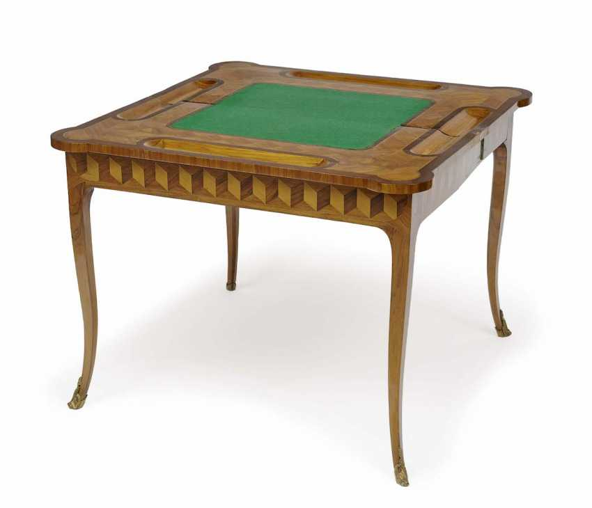 Paris, in 1740 . Game table - photo 2