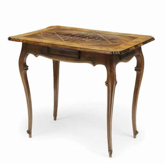 German, 18. Century . Game table - photo 1