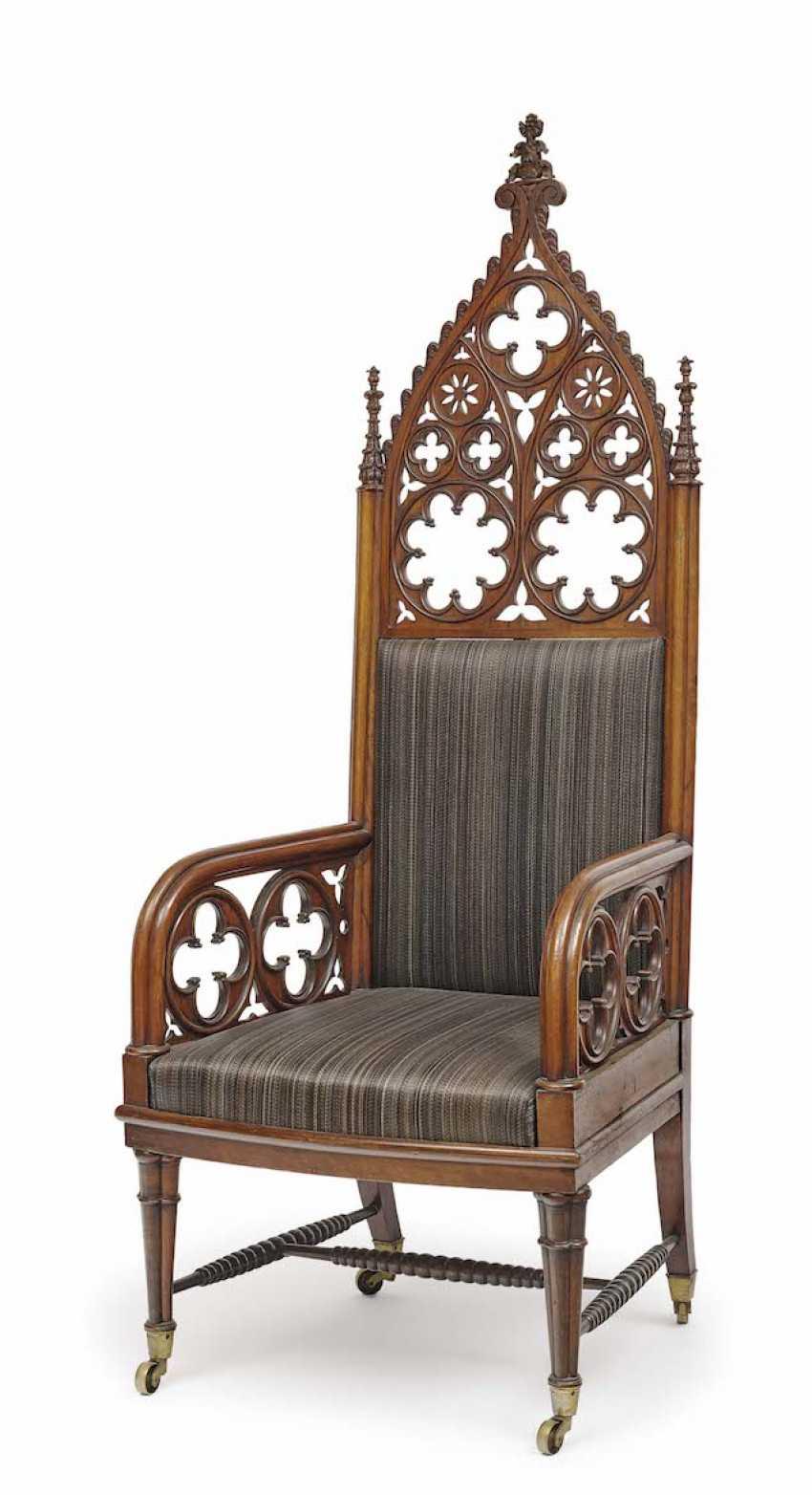 Russia, 1830 . Ceremonial armchair - photo 1
