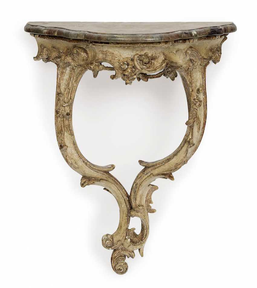 South German, Mid-18th. Century . SMALL WALL CONSOLE - photo 1
