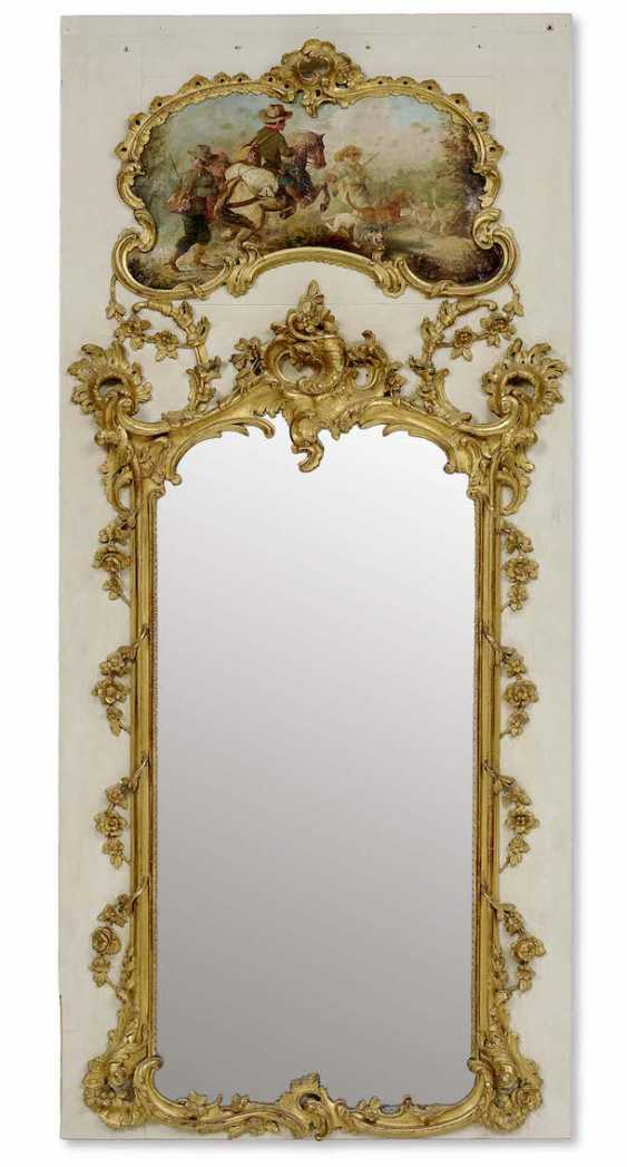 Louis XV-style . Trumeau mirror - photo 1