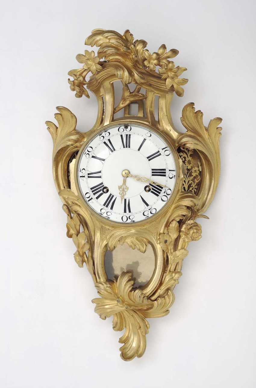 France, Louis XV, 18. Century . Cartel clock - photo 1