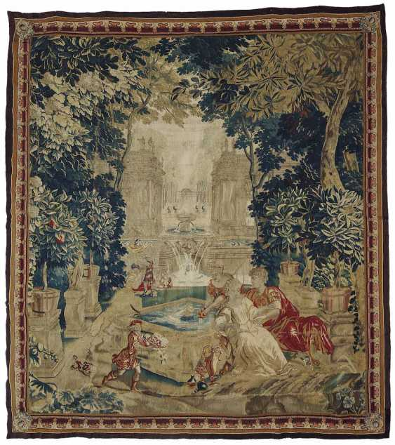 Oudenaarde (?), At the beginning of 18. Century. TAPESTRY - photo 1