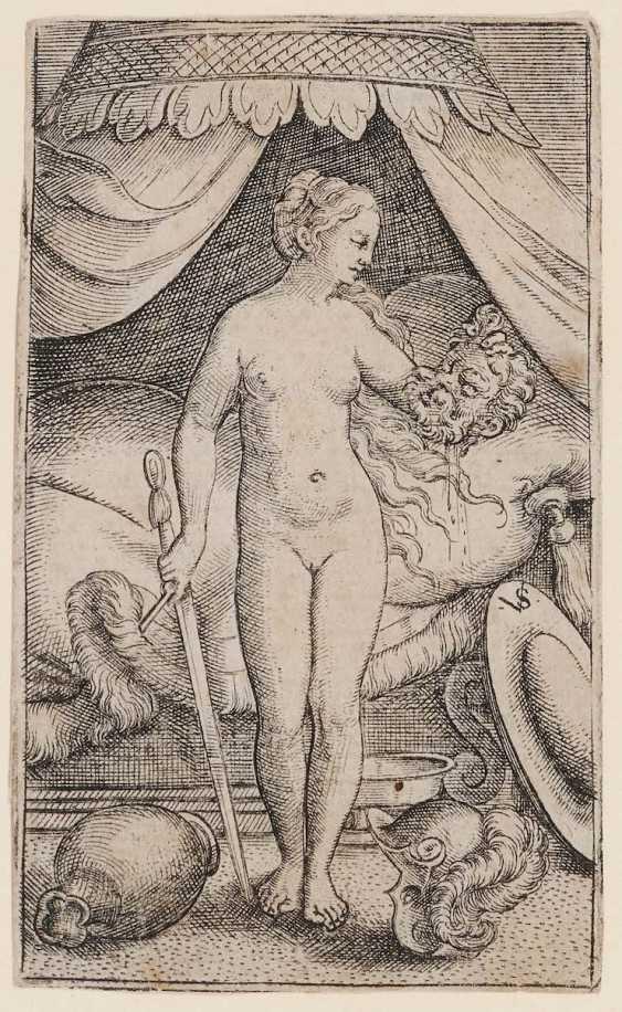 SUN D. Ä., VIRGILIUS. Judith mit dem Haupt des Holofernes - photo 1
