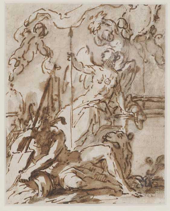 ITALIEN 16./17. Jahrhundert. Allegorische Darstellung - Foto 1