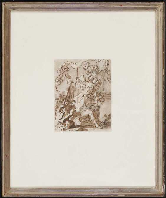 ITALIEN 16./17. Jahrhundert. Allegorische Darstellung - Foto 2