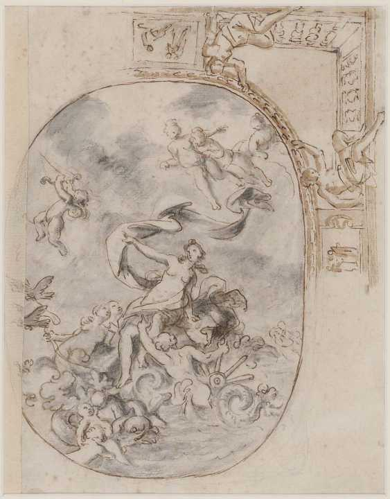 FRANCE 17./18. Century. Triumph of Galatea - photo 1
