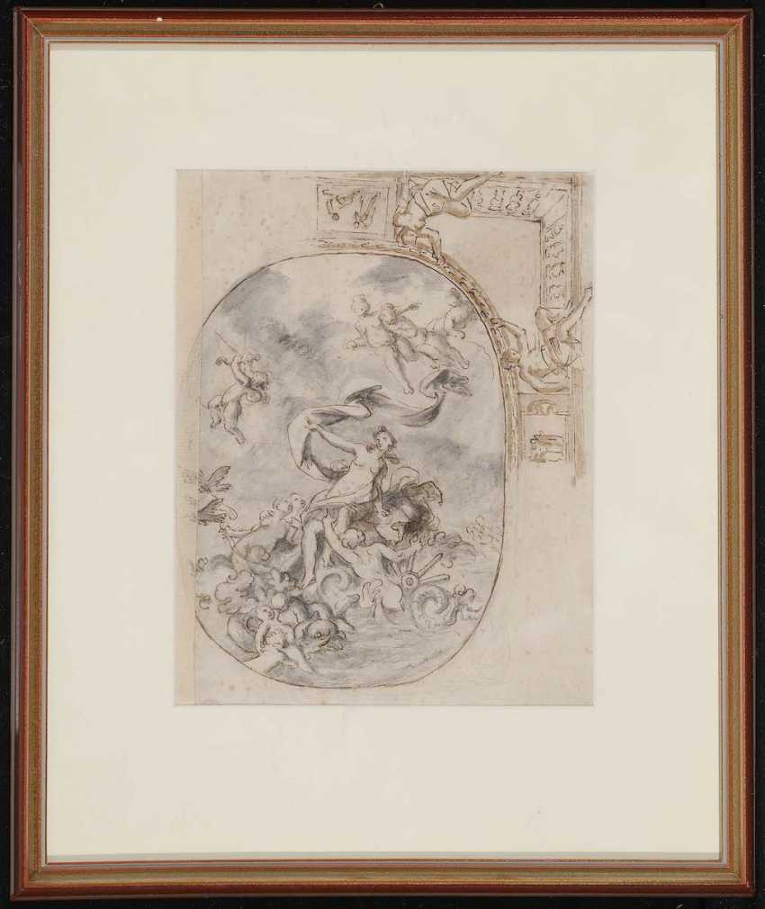 FRANCE 17./18. Century. Triumph of Galatea - photo 2