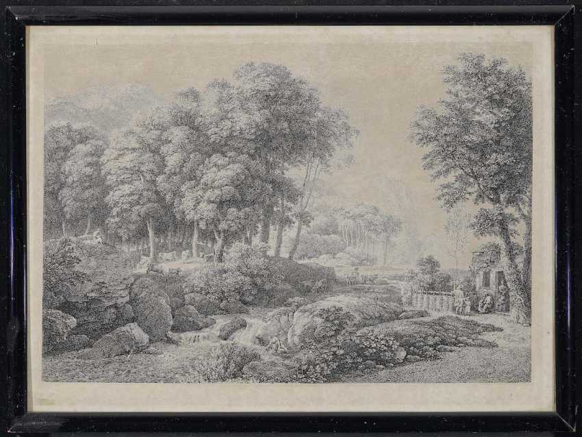 Gauermann, Jakob. Mountain landscapes with figure staffage - photo 2