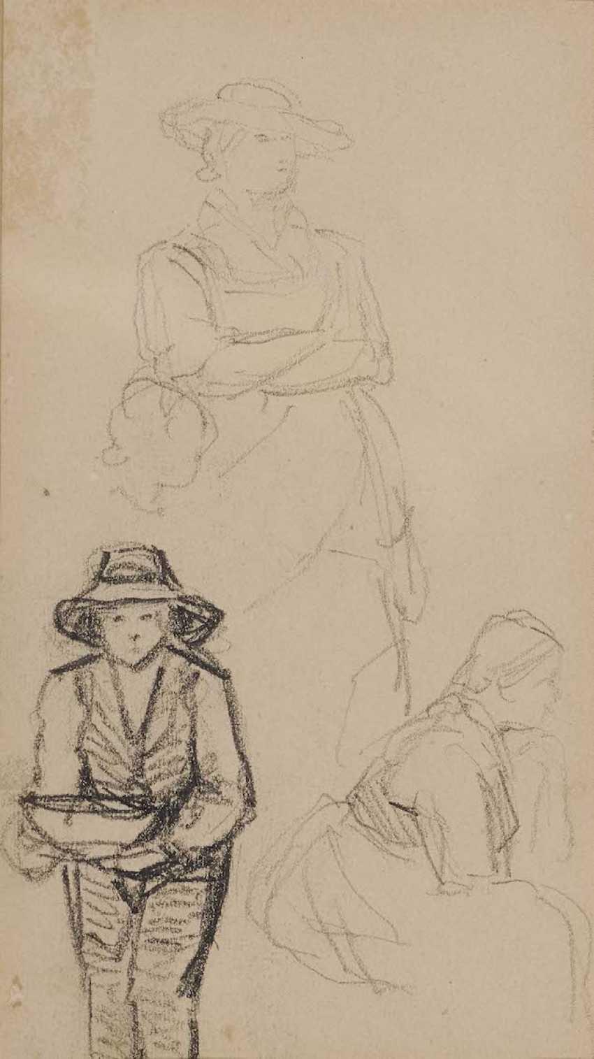 DefreGelbgolder, Franz von. Figurenstudien - photo 1