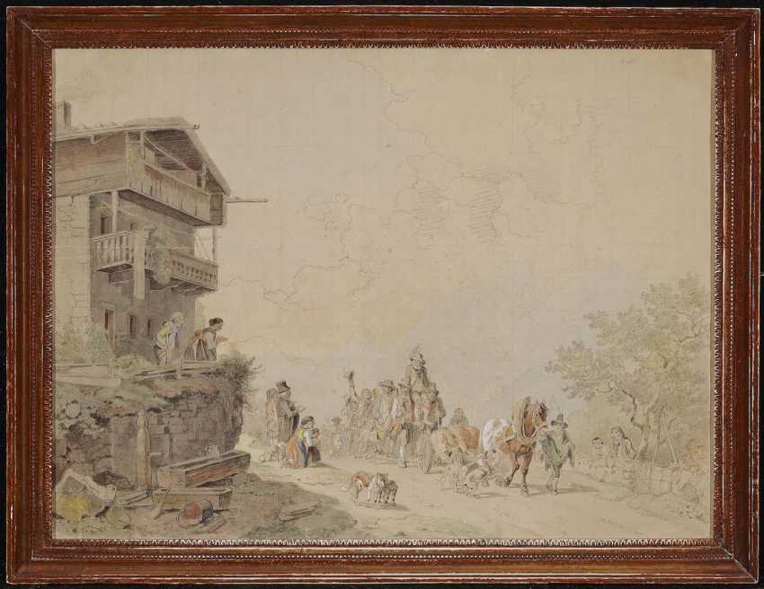 Bürkel, Heinrich. Return from the bear hunt - photo 2