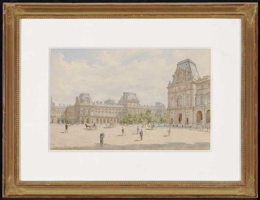 Старый, Франц. До Лувра в Париже - фото 2