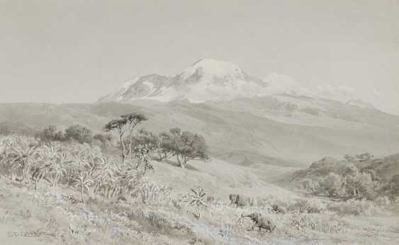 COMPTON, EDWARD THEODORE. ''Der Kilimandscharo aus S.W.'' - photo 1