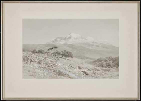 COMPTON, EDWARD THEODORE. ''Der Kilimandscharo aus S.W.'' - photo 2