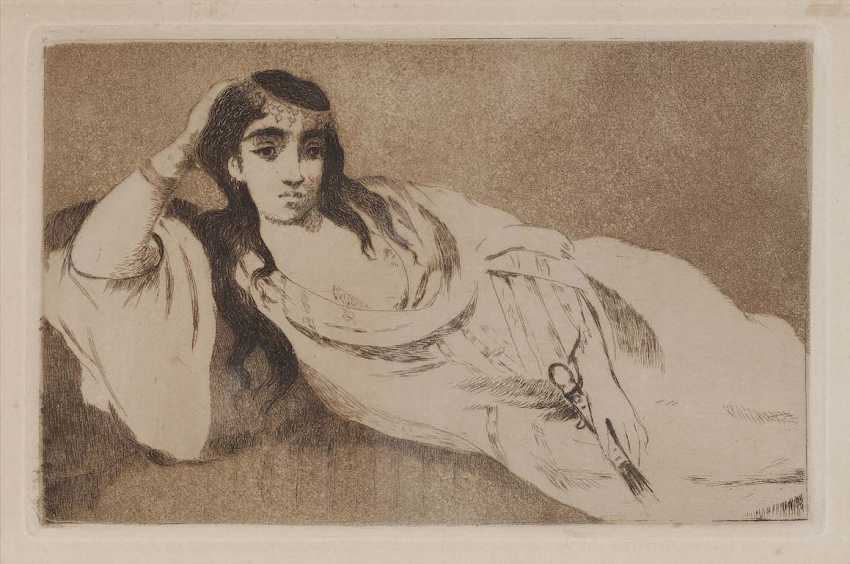 Manet, Edouard. Odalisque - photo 1