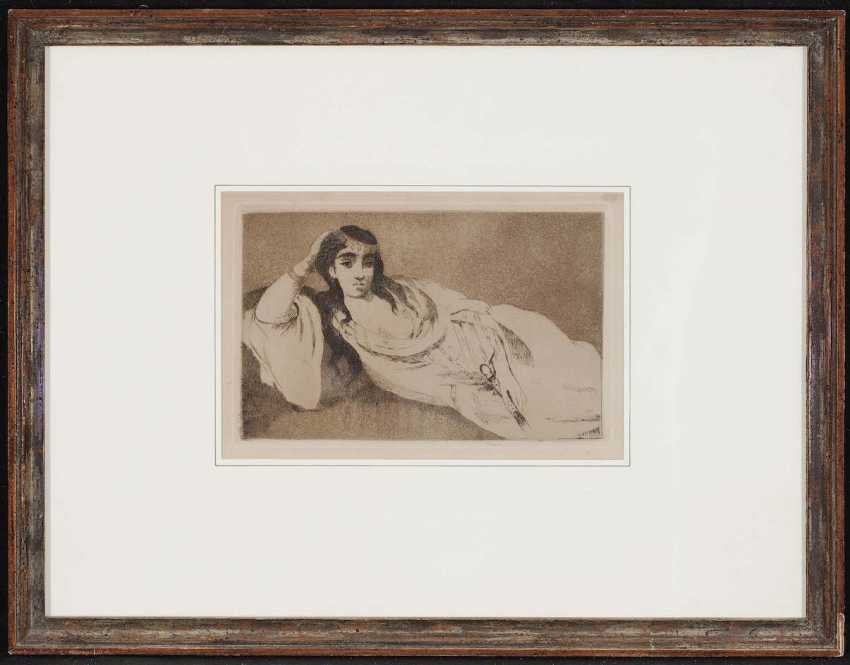 Manet, Edouard. Odalisque - photo 2