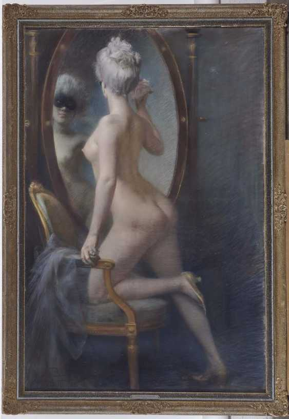PAUSINGER, CLEMENT OF. Female Nude in front of the mirror - photo 2