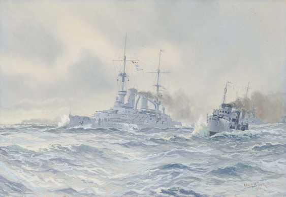 Bock, Adolf. Fleet in the First world war - photo 1
