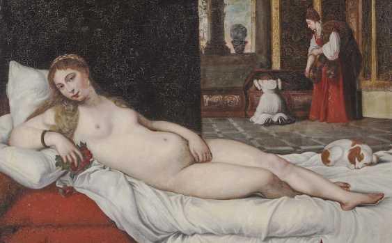 Titian (Tiziano Vecellio), Succession. Venus of Urbino - photo 1