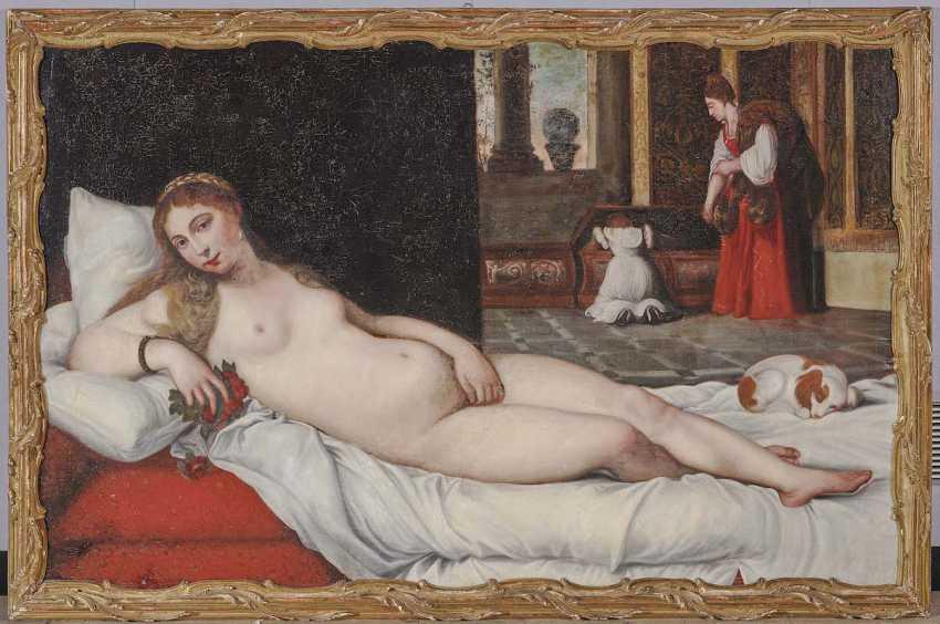 Titian (Tiziano Vecellio), Succession. Venus of Urbino - photo 2