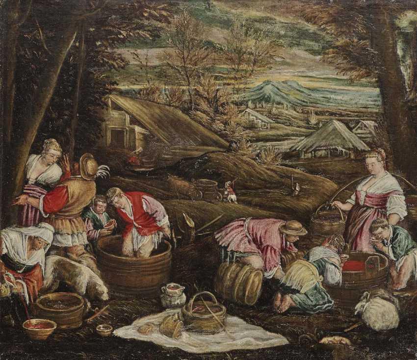 Bassano il Giovane (in fact, da Ponte), Francesco, perimeter. The Autumn - photo 1