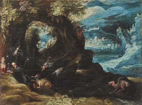 BRIL, PAUL, succession. Fantastic landscape with the temptation of the Hl. Anthony - photo 1