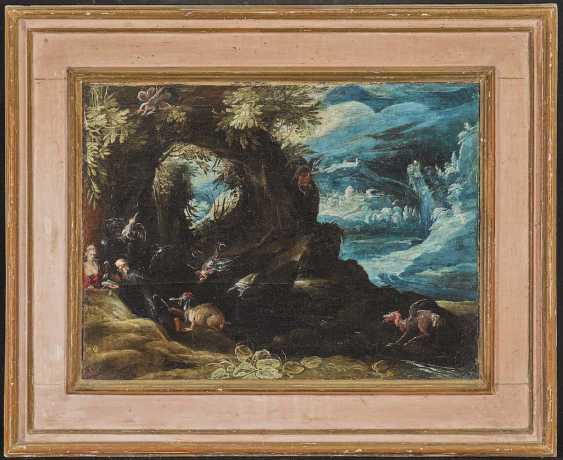BRIL, PAUL, succession. Fantastic landscape with the temptation of the Hl. Anthony - photo 2