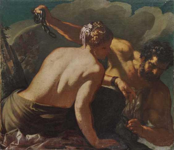Italien 17. Jahrhundert Herkules befreit Hesione - Foto 1
