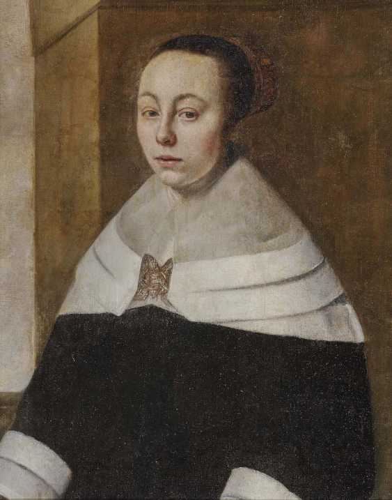The NETHERLANDS 17. Century. Ladies portrait - photo 1